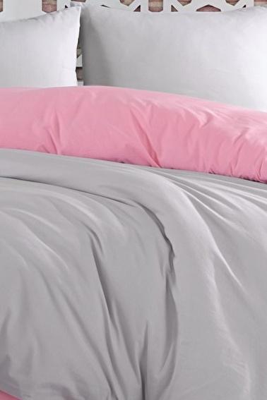 Lady Moda Silver Pink Tek Kişilik Nevresim Takımı Renkli